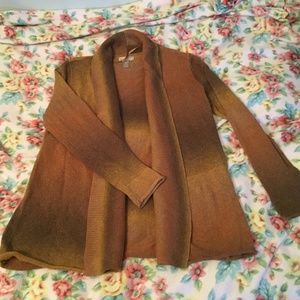 Size Small Cardigan- Warm Color Ombre Look